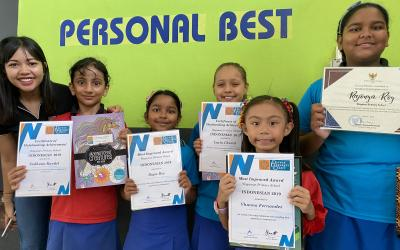 Congratulations to our students recognised by the Darwin Language Centre for their efforts in learning Indonesian. Thank you to Ibu Enggar for her fabulous work at Wagaman this year.